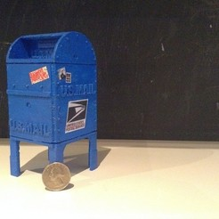 Mailbox_display_large.JPG Download free STL file Mailbox Coin Bank • 3D printable template, Ventwallader