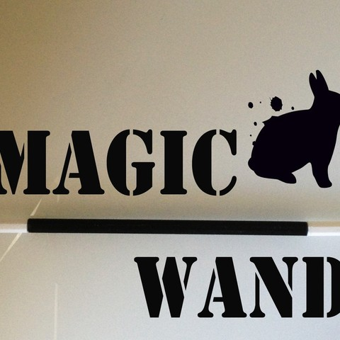 Download free 3D printing designs A Customized Magic Wand, Ventwallader