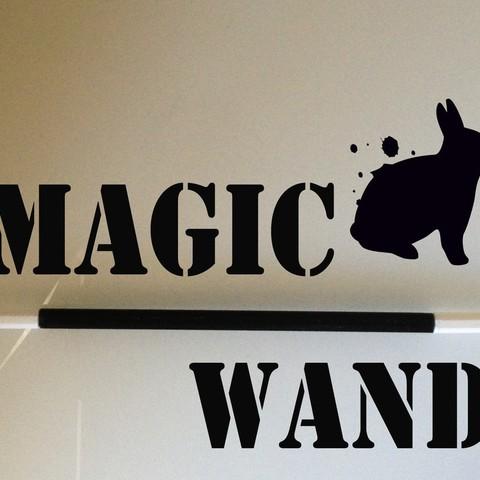 Fichier imprimante 3D gratuit Une baguette magique personnalisée, Ventwallader
