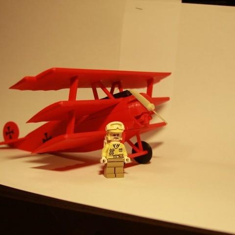 IMG_7069_display_large.jpg Télécharger fichier STL gratuit Fokker DR.1 Triplane • Design imprimable en 3D, Ventwallader