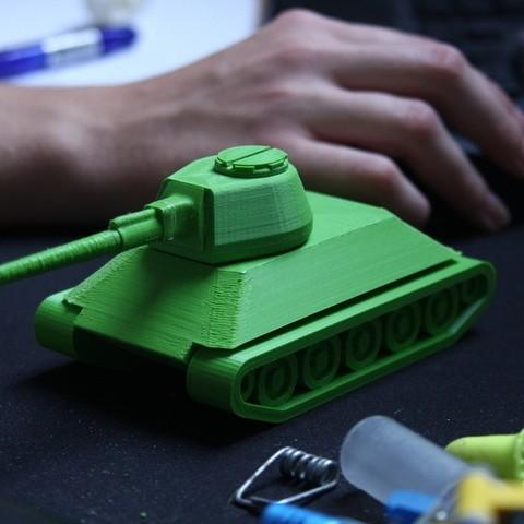 Télécharger fichier STL gratuit T-34, Ventwallader