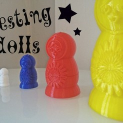 Download free 3D printing designs Traditional Nesting Dolls, Ventwallader