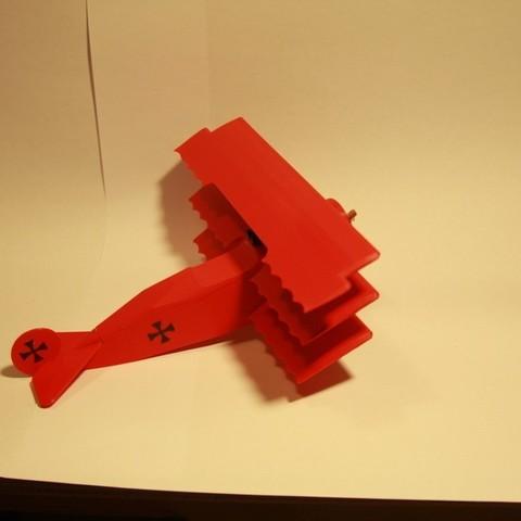 IMG_7062_display_large.jpg Télécharger fichier STL gratuit Fokker DR.1 Triplane • Design imprimable en 3D, Ventwallader