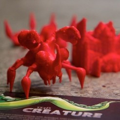 Download free 3D printer designs 123D Creature: Thundercrab, 123DCreature