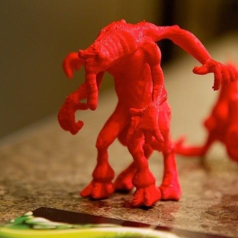Free 3D printer files 123D Creature: Elephanticus, 123DCreature