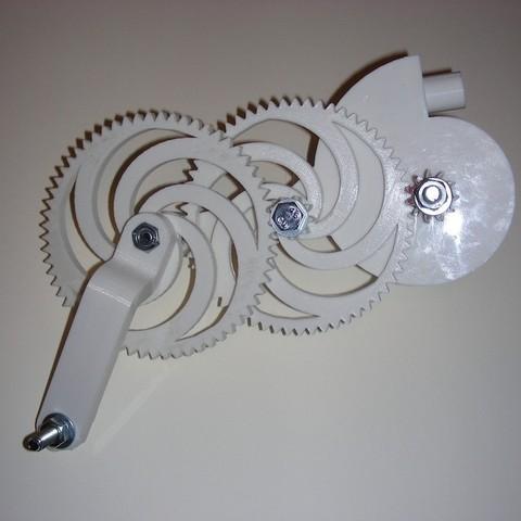 DSCN1482s_display_large.jpg Download free STL file Involute Blower • 3D print design, Azagal
