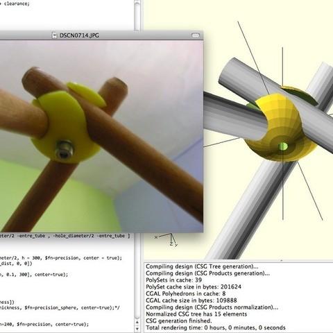 Screen_shot_2012-12-06_at_12.10.44_PM_display_large.jpg Download free STL file Parametric Tube Clamp • Design to 3D print, Azagal
