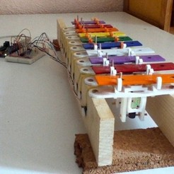 Free 3D model USB Xylophone, Azagal