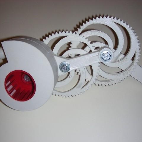 Download free 3D printer designs Involute Blower, Azagal