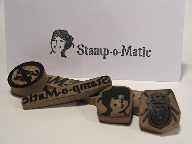 stamp_o_matic_display_large.jpg Download free STL file Stamp-o-Matic • 3D printing template, Azagal
