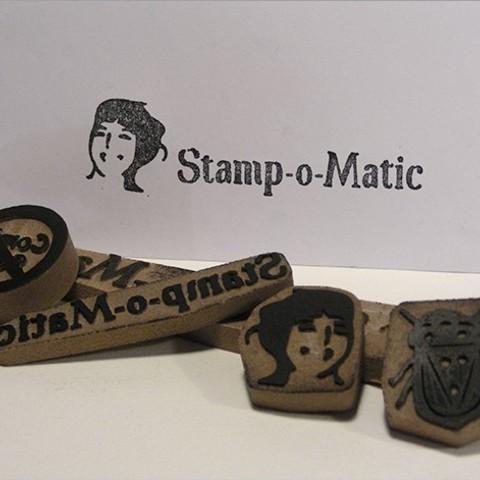 Download free STL file Stamp-o-Matic • 3D printing template, Azagal