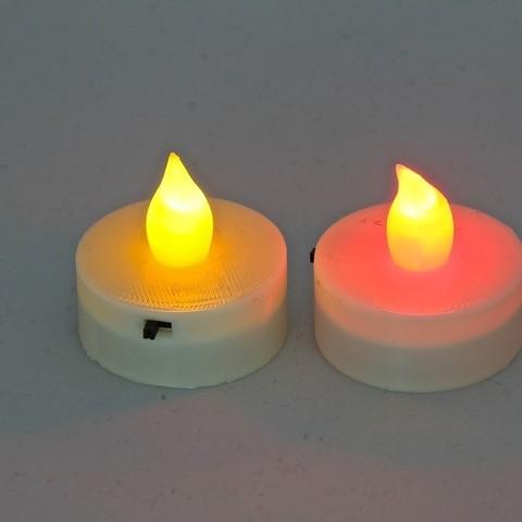 Free STL files Parametric LED Tea Light Candle Hat, Lurgrod