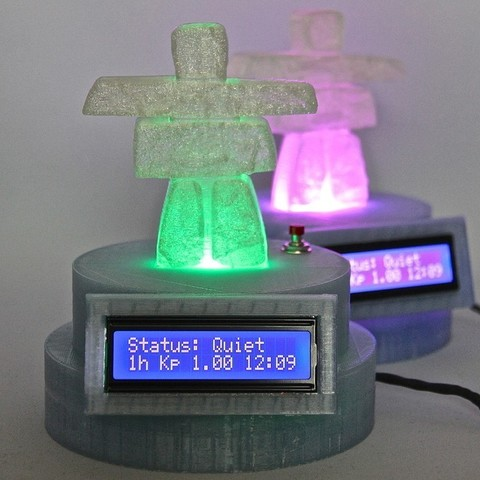 Imprimir en 3D gratis Monitor Aurora V2, Lurgrod