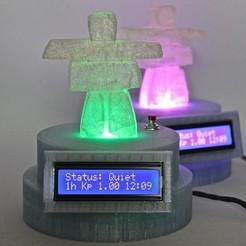 Free 3D printer model Aurora Monitor V2, Lurgrod