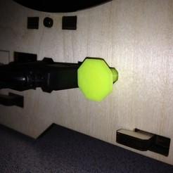 Télécharger plan imprimante 3D gatuit Poussoir du bouton de réinitialisation du réplicateur, Lurgrod