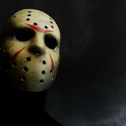 Jason2 Sello.jpg Download STL file Jason Voorhees - Mask - Best Mask • 3D printing model, SebastianDecilia