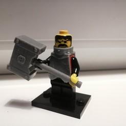 Descargar modelo 3D gratis Martillo a dos manos 1, TedGhast