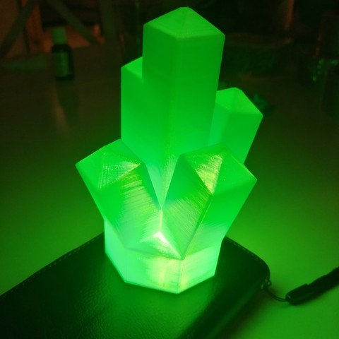 Free 3D printer files Giant Lego Crystal, TedGhast