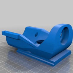 Download free STL file CNC DIY - Dremel 4000 fast mount, UnleashSpirit