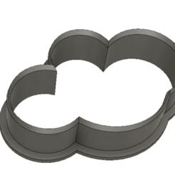 Télécharger fichier STL gratuit Découpeur de biscuits en nuage • Design pour imprimante 3D, terbear9876