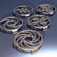 Download free 3D printing models Fibonacci Snap-On Fan Guard 40mm, 3d-dragar