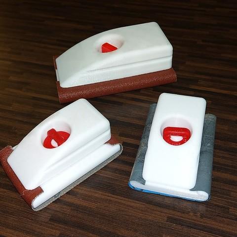 Télécharger objet 3D gratuit Porte-papier sablé[Navette], 3d-dragar