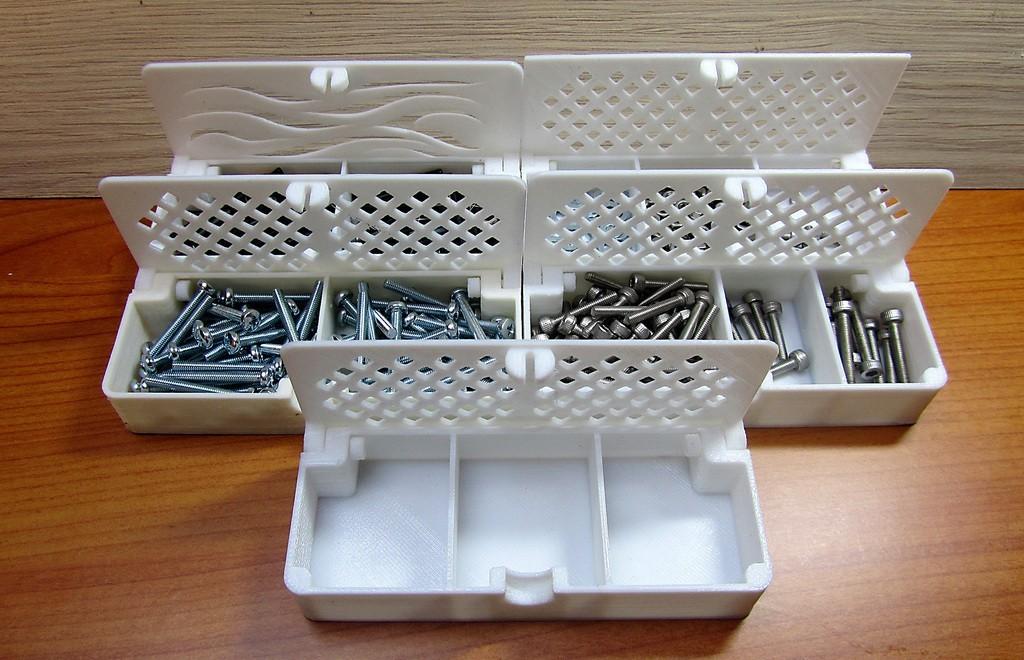 af7643ac335f998e21034b080a1ff022_display_large.JPG Télécharger fichier STL gratuit Boîte avec charnières cachées et verrouillage à clic • Objet à imprimer en 3D, 3d-dragar