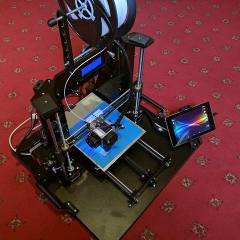 Télécharger objet 3D gratuit Imprimante i3 portable avec tablette rotative, 3d-dragar