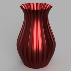 Vase_-_Flat_Edge_2020-Apr-10_09-36-22PM-000_CustomizedView4299383307.png Download STL file Vase - Flat Edges • Object to 3D print, jpt83