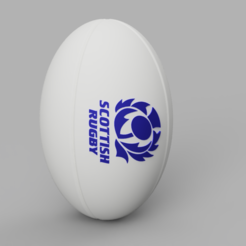 R-SCO.PNG Download STL file Rugby Ball - SCO • 3D print template, jpt83