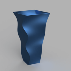 Download 3D printer files Vase - Square wave, jpt83
