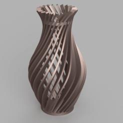 Download STL file Vase - Twisted Blades, jpt83