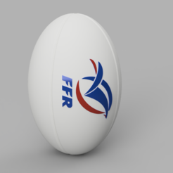 R-FRA.PNG Download STL file Rugby Ball - FRA • 3D printable object, jpt83