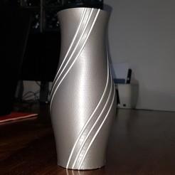 20200818_213718.jpg Download STL file Vase - Three Strands of Filament • 3D printing template, jpt83