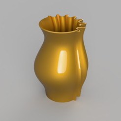 Siamese3.PNG Download STL file Vase - Siamese • Object to 3D print, jpt83