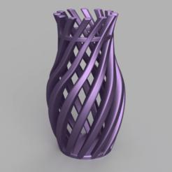 Download 3D printer files Vase - Twisted Beams, jpt83