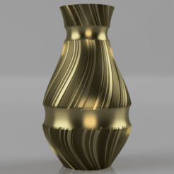 Vase_-_Treads_Trenched.png Download STL file Vase - Trenched Treads • Model to 3D print, jpt83