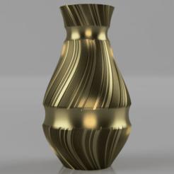 Vase_-_Treads_Trenched.png Télécharger fichier STL Vase - Bandes de roulement tranchées • Modèle pour imprimante 3D, jpt83