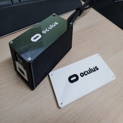 Download free STL file Oculus Rift S - 10m/32f Cable Extender BreakOut Box with Tutorial! • Design to 3D print, 3DPrintiverse