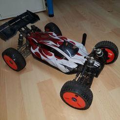 20190512_201300.jpg Download free STL file DareRC Buggy - Rear Drive/Frame/Holder (V2) • 3D printing template, 3DPrintiverse