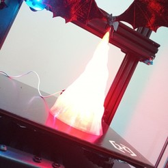3D printer models Dragon GoT Lamp, neilvdm