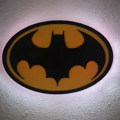 Videoframe_20200916_114039_com.huawei.himovie.overseas.jpg Download 3MF file 1989 batman logo painting, with led lighting • 3D print model, todoimpresion3d