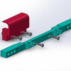 Descargar diseños 3D gratis Parachoques + tapa de la caja de cambios + cilindros de la puerta del tanque BRUDER, Grandseb31