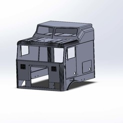 Impresiones 3D Kit aerodyne Globo Liner TAMIYA cabina simple, Grandseb31