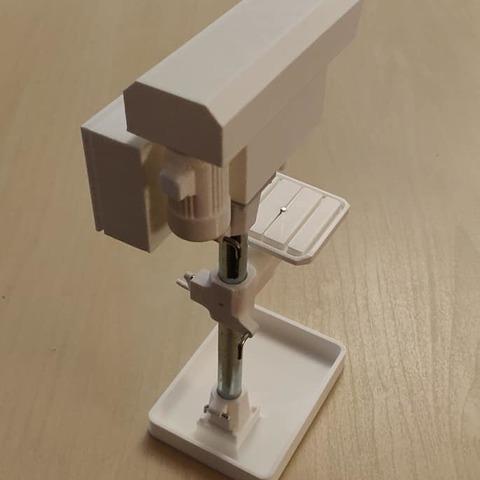 STL Drill press (Drill press) 1/10, Grandseb31