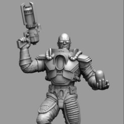 Download 3D printing files Mr. Freeze Fan Art Victor Fries, Expecto