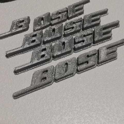 Download free 3D model Bose Logo, dorelpuchianu