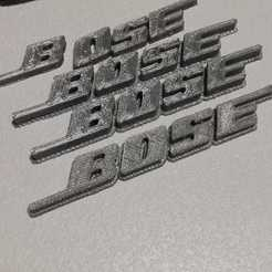 Free 3D printer model Bose Logo, dorelpuchianu