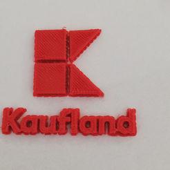 3D printer models Kaufland Logo, dorelpuchianu