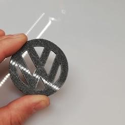 Impresiones 3D Logotipo de Volkswagen, dorelpuchianu